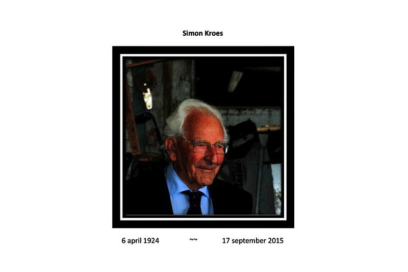 In Memoriam – Simon Kroes