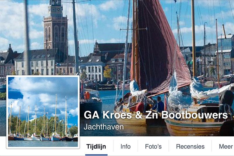 Kroes op Facebook!
