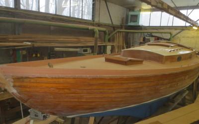 Nieuw dek voor Volksboot Udang Mas