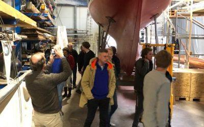 Bezoek Flensburg 12 M klasses